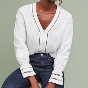 Anthropology Isla Maude Blouse